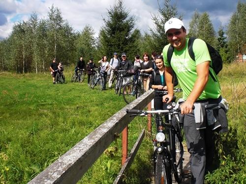 Ekskursija dviraciais po Dzukijos nacparka