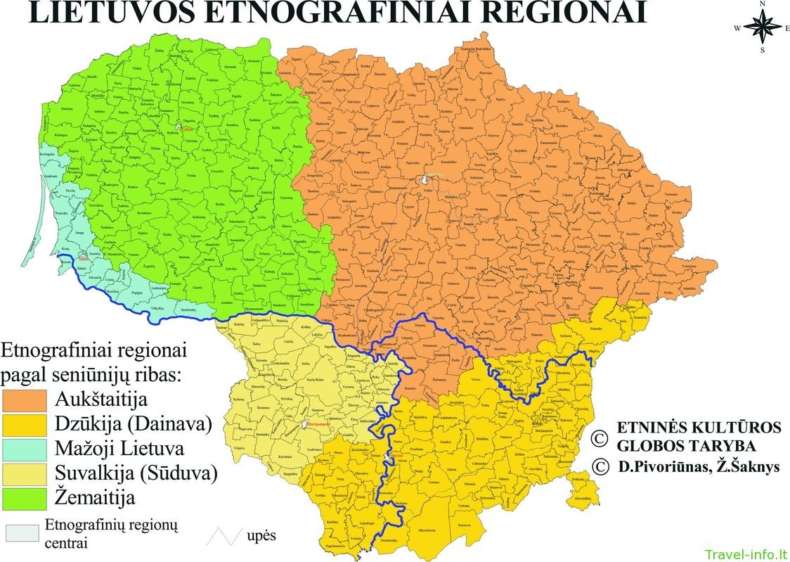 Etnokultūriniai regionai Lietuvoje