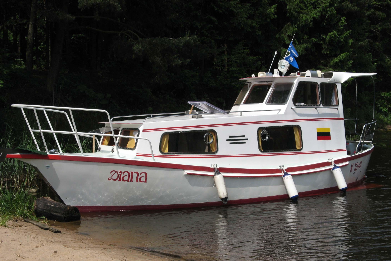 Laivo nuoma Kauno mariose, nuo 100 lt.