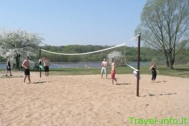 1-asis paplūdimys prie Kauno marių