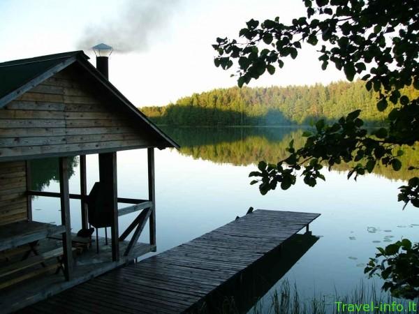 Kaimo turizmo sodyba ant Ilgušio ežero kranto