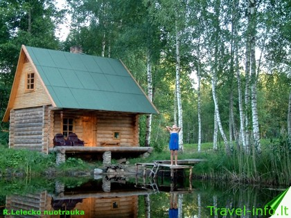 Kaimo turizmo sodyba prie Ūsto ežero
